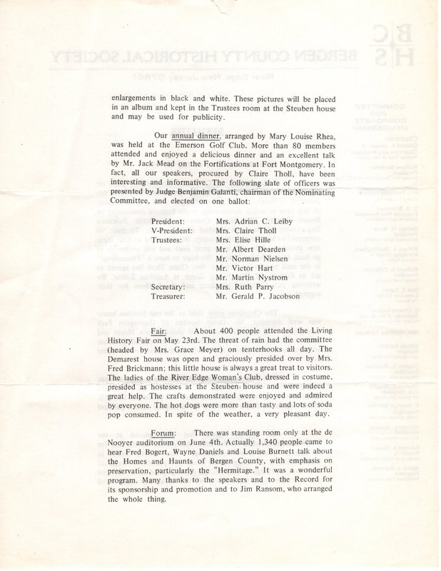 Bergen County Historical Society Newsletter July 1970 P2.jpg