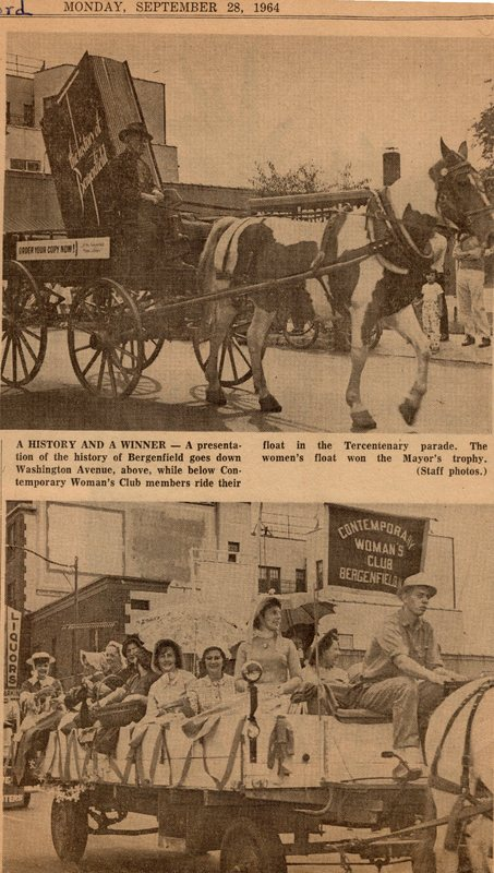 Newspaper Clipping The Record September 28 1964 40 Units Parade in Bergenfield 2.jpg