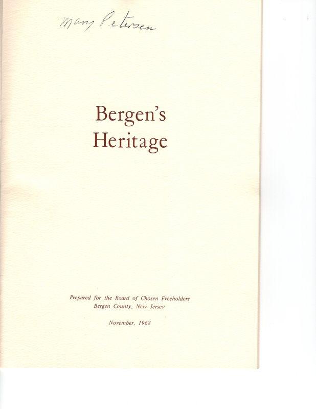 Bergen's Heritage