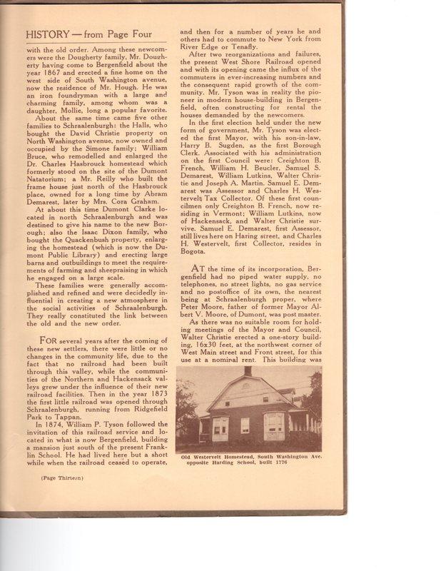 Fortieth Anniversary Brochure