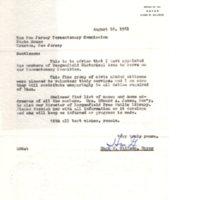 Mayor Hugh M Gillson Letter to New Jersey Tercentenary Commission.jpg