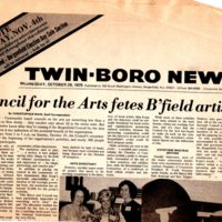 Council for the arts newspaper clipping Oct 29 1975 P1 top.jpg