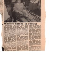 Winners Named in Contest newspaper clipping undated.jpg