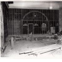 Black and white photographs 8 x10 Renovation Council Chamber 1956 Borough Hall.jpg