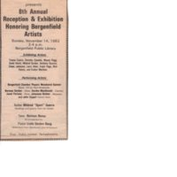 8th Annual Reception & Exhibition Honoring Bergenfield Artists advertisement.jpg
