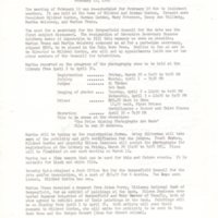 Bergenfield Council for the Arts minutes February 19 1985 P1.jpg