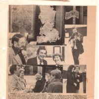 Putting it All on Paper photos and captions of paperwork exhibition Twin Boro News Nov 29 1978.jpg