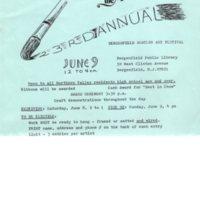 23rd Annual Amateur Art Festival application June 9 1985 P1 top.jpg