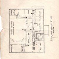 Blueprint of Borough Hall Second Floor Plan.jpg