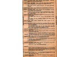Cultural Calendar, October 1976 (newspaper clipping)