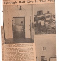 Renovations at Bergenfield Borough Hall Give It That Big City Look newspaper clipping Times Review Oct 25 1956 P1 middle.jpg