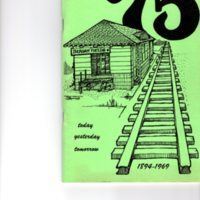 Cover of 75th Anniversary Pamphlet