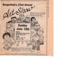 22nd Amateur Art Show advertisement May 23 1984.jpg