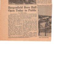 Bergenfield Boro Hall Open Today to Public newspaper clipping The Sunday Sun Nov 28 1956 P1 bottom.jpg