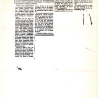 """""""Ms. Kopp Named President of Arts Council,"""" (newspaper clipping) 1976<br /><br />"""