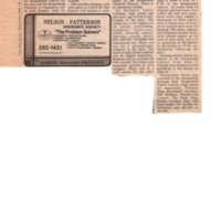 Annual Art Show Set for June 10 newspaper clipping Twin Boro News, May 23 1984.jpg