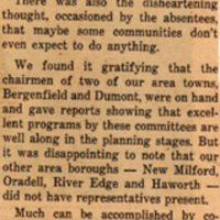 Newspaper Clipping Times Review January 1 1963 Tercentenary Planning.jpg