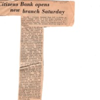 Citizens Bank Opens New Branch Saturday newspaper clipping Times Review March 31 1966 P1 top.jpg