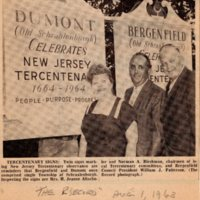 Newspaper Clipping The Record August 1 1963 Tercentenary Signs Copy 2.jpg