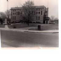 Black and white photograph 8 x 8 Borough Hall exterior 1960.jpg