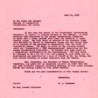 Norman A Bleshman Letter to Bergenfield Mayor and Council.jpg