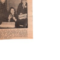 State Bank to Open Again This Saturday newspaper clipping Twin Boro News March 30 1966 P3.jpg