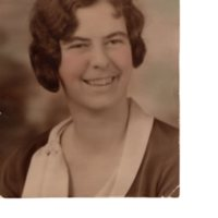 1 black and white photograph 7 x 9 Bea James in her twenties.jpg