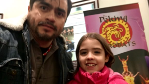 Bergenfield Pupblic Library ESL Program Student and Daughter
