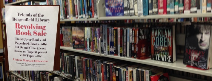 book sale bergenfield public library