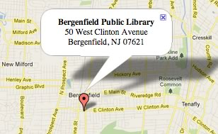 Map of Bergenfield,NJ